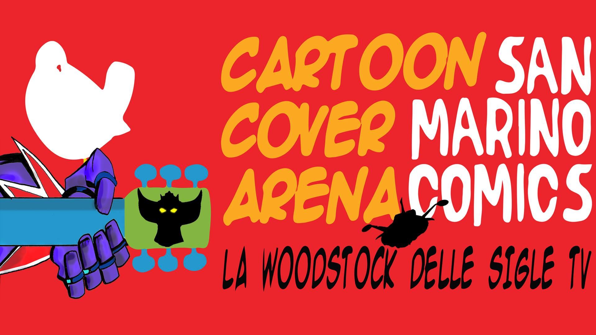 cartoon cover arena